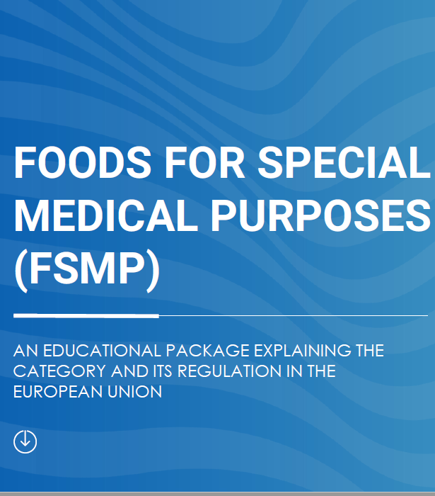 Foods for Special Medical Purposes (FSMPs): an educational package explaining the category and its regulation in the EU